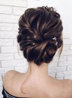Featured Hairstyle: Lena Bogucharskaya; www.instagram.com/lenabogucharskaya; Wedding hairstyles ideas. #InterestingThings