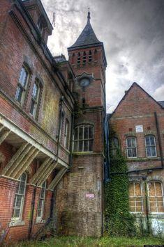 Abandoned: Lillesden School for Girls, Kent, South East, England.