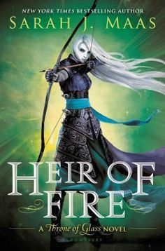 Heir of Fire by Sarah J. Maas - Royal assassin Celaena must travel to a new land to confront a truth about her heritage, while brutal and monstrous forces are gathering on the horizon, intent on enslaving her world.