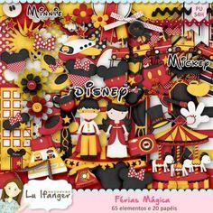 Kit Digital Férias Mágica by Lu Ifanger