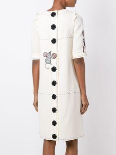 7ac2d6a3e51 Dolce   Gabbana платье с вышивкой мышей Kurta Дизайн