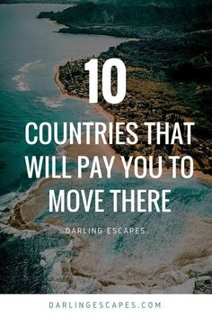 States Nowadays, it's easier to pack your bags and start a new life abroad than ever. And what makes this fact even sweeter is that there are some pretty cool countries that will actually pay you to move there! Travel Jobs, Travel Advice, Travel Guides, Travel Hacks, Travel Abroad, Travel Packing, Solo Travel, Packing Tips, Places To Travel