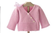 Book Baby 64 Spring / Summer | 33: Baby Jacket | Mauve