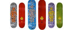 Resultado de imagem para skateboard deck designs series
