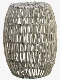 Crafted on the cutting edge of modern fashion, this hardy rattan stool is both sturdy and stylish. Rattan Stool, Chandelier, Home Accents, Stool, Decor, Living Room, Decorative Bowls, Ceiling Lights, Room