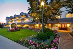 The beautiful Carlisle Inn, Walnut Creek Ohio. Joy & Bob loved staying here for Amish musical.