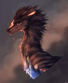 Mythical Creatures Art, Fantasy Creatures, Mythological Animals, Dragon 2, Anime Fantasy, Animal Drawings, Mythology, Objects, Amazing