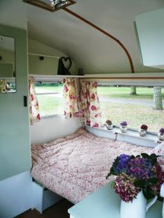 265 best caravan interiors images on Pinterest | Campers, Vintage ...