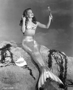 Ann Blyth in Mr. Peabody and the Mermaid (1948).