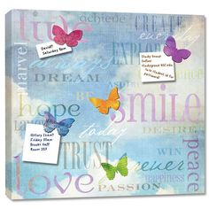 LiveSmileLove Magnet Memo Board, $20, now featured on Fab.