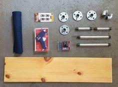Supplies | DIY Helmet Rack | Ridewell