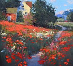 Country Air by Romona Youngquist  ~ 36 x 40