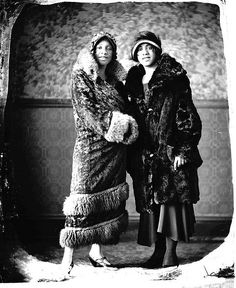 Vintage photo of  African American flappers courtesy of Black History Album, The Way We Were.