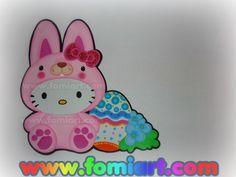Hora de Descargar ! ¡Hello Kitty disfrazada de patito! Moldes muestra #F#FomiArt Fictional Characters, Art, Hello Kitty Stuff, Free Pattern, Kitty, Patterns, Notebooks, Art Background, Kunst