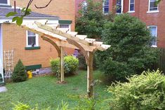 Cantilevered Pergola 6e by Snoproblem, via Flickr  https://www.flickr.com/photos/14707864@N03/4894172184/in/photostream/