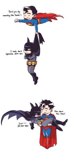 superman+batman by Lapuger