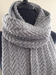 Ridges is a luxuriously long scarf created with simple repetitive stitches; a sequence. The paired increases and decreases create a wonderful bias fabric. I chose a luxury baby alpaca/merino blend and tucked in to enjoy the journey.