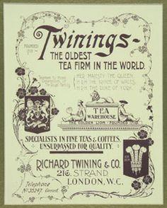 Twinings Tea Advertisment