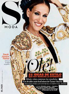 Sarah Jessica Parker photographiée par Gonzalo Machado pour le magazine S Moda.