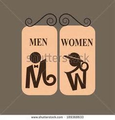 toilet sign men women - 必应 Bing 图片