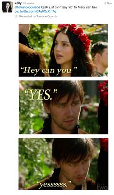 He would do anything for her. | Community Post: Why You NEED To Follow Torrance Coombs On Twitter.