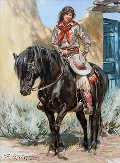 The Black Stallion by Terri Kelly Moyers Oil ~ high x wide Cowgirl And Horse, Cowboy Art, Horse Drawings, Art Drawings, Arte Equina, Horse Artwork, West Art, Le Far West, Tarzan