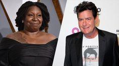 Whoopi Golberg e Charlie Sheen serão os protagonistas de'Nine Eleven' (Divulgação / Yahoo! UK)