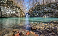 Mama Bear Falls Bear Creek, Ozark National Forest, Arkansas  #livnativ #wanderfar #explore           #arkansas +Arkansas - The Natural State #arkansas... - David D - Google+