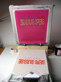 Serigraphie DIY