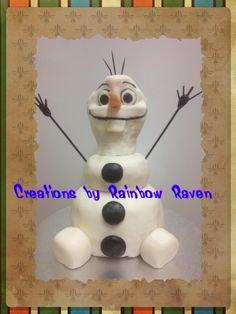 Olaf cake.