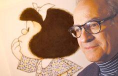 Obra mais famosa de Quino, a personagem Mafalda surgiu em 1964 e durou até 1973, quando o autor percebeu que o seu reportório se tinha esgotado e que não poderia insistir sem se repetir. Mafalda é uma menina de cerca de 6 anos super preocupada com a humanidade, que acredita que a sua geração pode mudar o mundo.Mafalda detesta sopa e adora os Beatles.