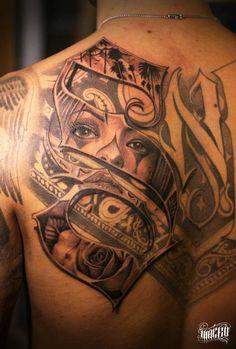 Tatuagem estilo Mexicano