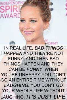 23 Inspiring Jennifer Lawrence Quotes Every Girl Should Live Her Life By. Wow this was very powerful.