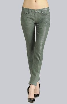 7 for all mankind, gwenevere light drill stretch deep teal, €239.00