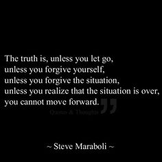 The toughest part was forgiving myself. ❤️