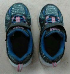 Danskin Now Toddler 7 Purple Girls Athletic Glitter Sneakers Kids Children Shoes