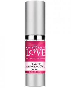 Endless Love by Body Action Female Arousal Gel Light helps enhance pleasure and stimulation resulting in an explosive orgasm. Experience heightened sensations. .5oz.