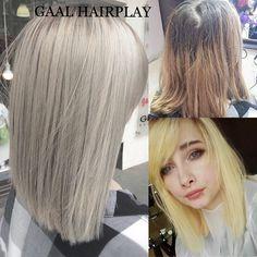 Get rid of silly hair , try a nice grey platinum blond color #pravana#greyhair#blondhair#healtyhair