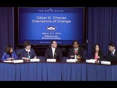 Cesar Chavez Champions of Change The White House honors community service leaders to highlight their incredible contributions to our public and community service sectors in recognition of Cesar Chavez Day.