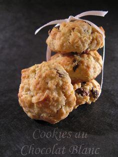 J'en reprendrai bien un bout...: Cookies au Chocolat Blanc (Martha Stewart # 42)
