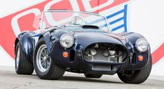 Two Dozen Of Carroll Shelby's Own Cars Coming Up For Auction Ford Mustang Shelby Gt500, 1965 Shelby Cobra, Shelby Car, Mustang Cobra, Ac Cobra, Carroll Shelby, Lincoln Continental, Can Am, Convertible