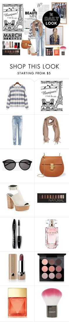"""a beautiful mind"" by kittycatcorner on Polyvore featuring Dsquared2, Yves Saint Laurent, Chloé, Rebecca Minkoff, Forever 21, Lancôme, Elie Saab, Marc Jacobs, MAC Cosmetics and Michael Kors"