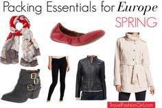Heading on a multi-country European vacation? Find out our top packing essentials! http://travelfashiongirl.com/how-to-pack-for-a-multi-country-european-vacation/