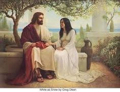 Jesus and Mary Magdalene - http://universal-wellness.blogspot.com/2015/02/baring-my-soul-and-planting-dream.html