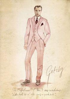 "Catherine Martin/Bazmark for Leonardo di Caprio ""The Great Gatsby"""