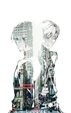 Guren Ichinose & Shinya Hiragi from Owari No Seraph