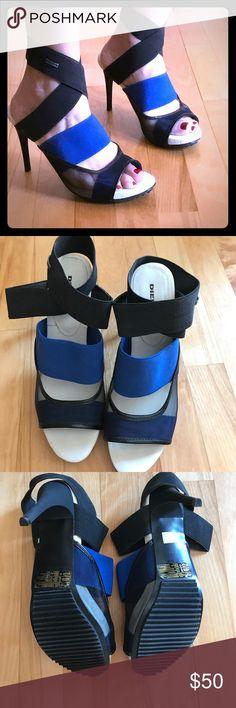 Diesel urban heels Size 39 never worn super comfortable just not my style Diesel Shoes Heels