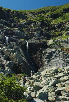 Tuckerman's Ravine (one of the trails up Mt. Washington): Feels like home up there...