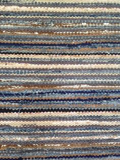 Jute Rug, Woven Rug, Loom Weaving, Hand Weaving, Weaving Textiles, Rag Rugs, Tear, Recycled Fabric, Yarn Needle