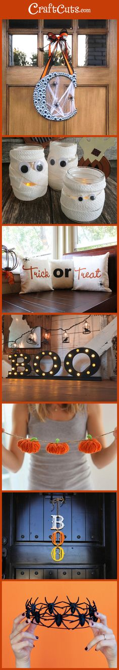 7 Halloween Crafts | Halloween Wreath Ideas | Halloween DIY | CraftCuts.com
